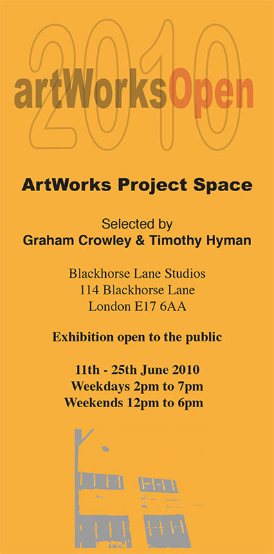 ArtWorks Open 2010 invite