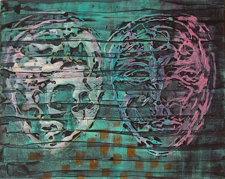 Naissance_ acrylic on canvas_51x40.5cm